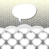 Burbuja del discurso Foto de archivo libre de regalías