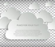 Burbuja del discurso del vector Fotos de archivo libres de regalías