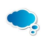 Burbuja del pensamiento Imágenes de archivo libres de regalías