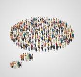 Burbuja del pensamiento Imagenes de archivo