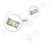 Burbuja económica Fotos de archivo libres de regalías