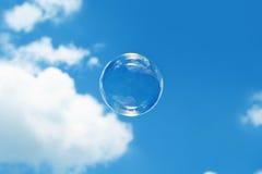 Burbuja en el cielo Imagen de archivo libre de regalías