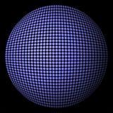 Burbuja en fondo negro Imagenes de archivo