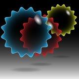 Burbuja Estrella-Transparente Fotografía de archivo