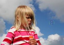 Burbuja flotante Foto de archivo