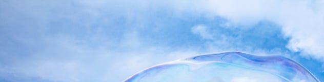 Burbuja gigante en el cielo foto de archivo