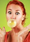 Burbuja gum2 Fotografía de archivo