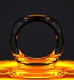 Burbuja líquida Imagen de archivo libre de regalías