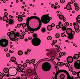 Burbuja rosada ilustración del vector