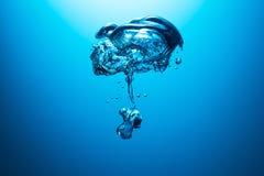 Burbuja subacuática Imagenes de archivo