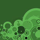 Burbuja verde ilustración del vector