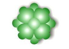 Burbuja verde de la flor Foto de archivo libre de regalías