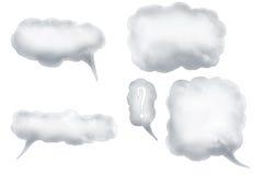 Burbujas 1 del discurso stock de ilustración