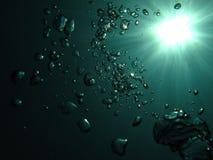 Burbujas Foto de archivo libre de regalías