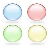burbujas 3d Fotos de archivo libres de regalías