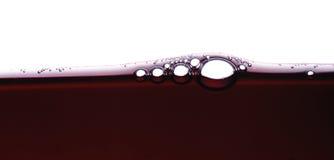Burbujas 4 del vino Fotos de archivo