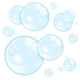 Burbujas Ilustración del Vector