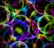 Burbujas abstractas Fotografía de archivo