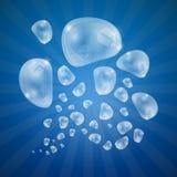 Burbujas abstractas del vector Fotos de archivo libres de regalías