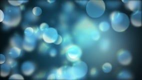 Burbujas abstractas que vuelan en el ambiente encendido brillante libre illustration