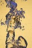 Burbujas azules Fotos de archivo