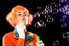 Burbujas, burbujas. Imágenes de archivo libres de regalías
