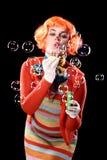 Burbujas, burbujas de las burbujas? Imagenes de archivo