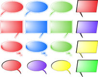 Burbujas coloreadas Imagenes de archivo