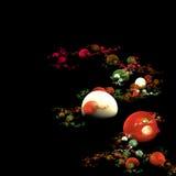 Burbujas coloreadas Imágenes de archivo libres de regalías