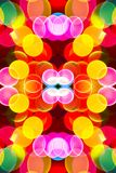Burbujas coloreadas extracto fotografía de archivo libre de regalías