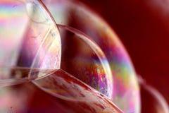 Burbujas coloridas foto de archivo libre de regalías