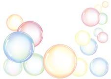 Burbujas coloridas Fotografía de archivo libre de regalías