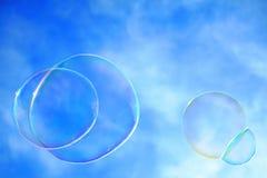 Burbujas coloridas Foto de archivo