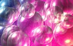Burbujas coloridas Imagen de archivo libre de regalías