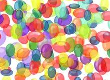 Burbujas coloridas Stock de ilustración