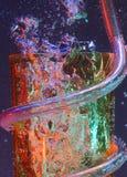 Burbujas coloridas Fotos de archivo libres de regalías
