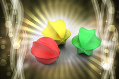 burbujas 3d Foto de archivo libre de regalías