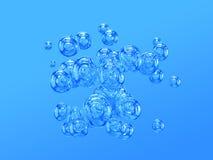 Burbujas de aire Foto de archivo