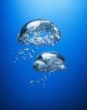 Burbujas de aire Imagen de archivo