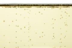 Burbujas de Champán Imágenes de archivo libres de regalías