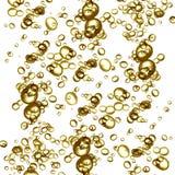 Burbujas de Champage Imágenes de archivo libres de regalías