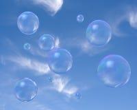 Burbujas de jabón Fotografía de archivo libre de regalías
