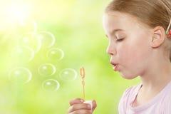 Burbujas de jabón Imagen de archivo libre de regalías