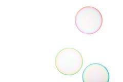 Burbujas de jabón imágenes de archivo libres de regalías