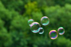 Burbujas de jabón Imagen de archivo