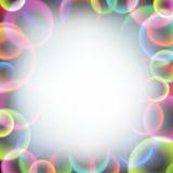 Burbujas de jabón del arco iris Fotos de archivo libres de regalías
