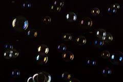 Burbujas de jabón. Fondo abstracto. Imágenes de archivo libres de regalías