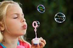 Burbujas de jabón Fotos de archivo libres de regalías