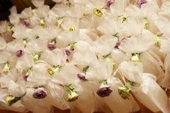 Burbujas de la boda Foto de archivo libre de regalías