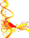 Burbujas de la celebración Ilustración del Vector